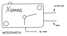 advanced byo kit installation diagram with wiring schematic xgaming rh support xgaming com micro switch wiring instructions micro switch wiring instructions
